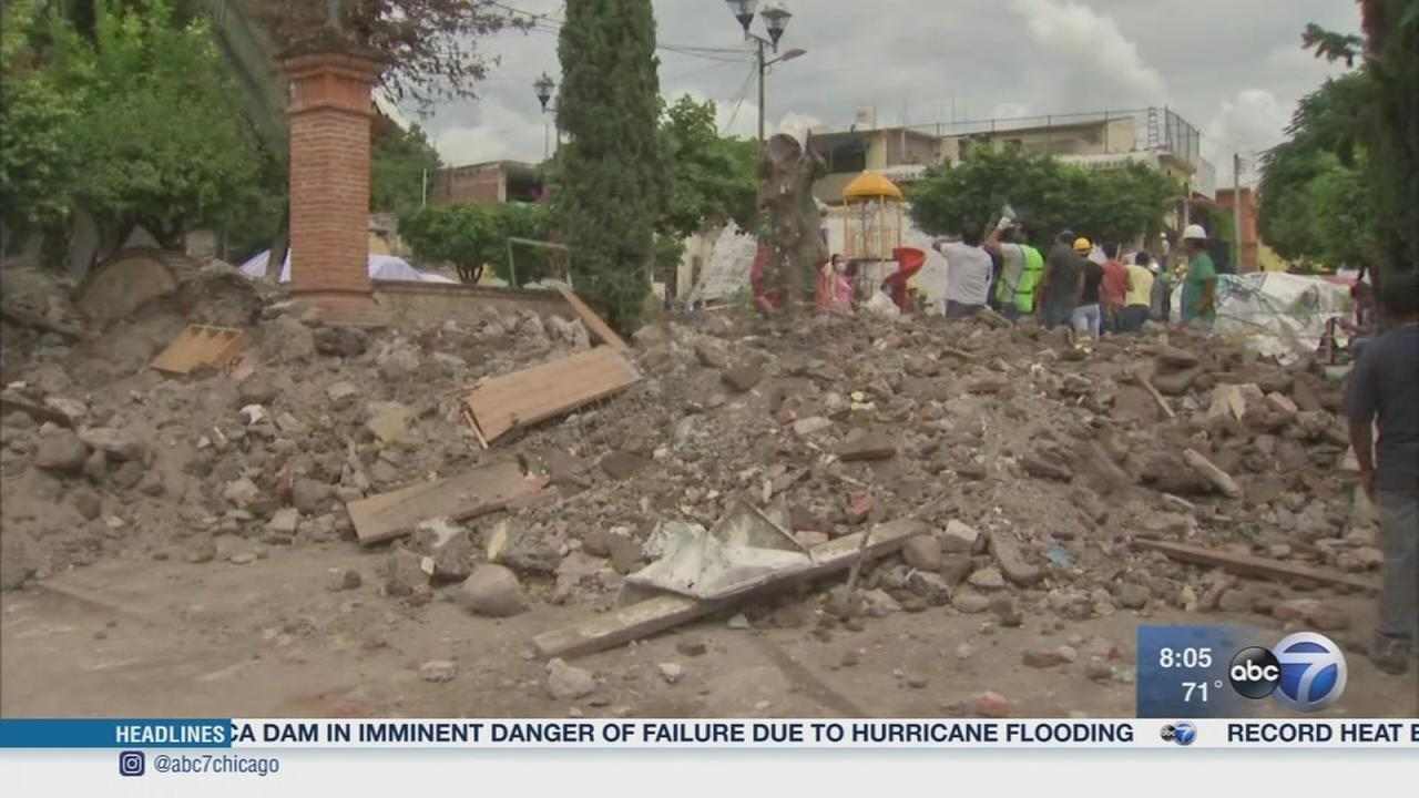 Recovery efforts continue in Mexico