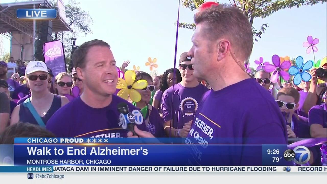 Chicago Proud: Walk to End Alzheimers