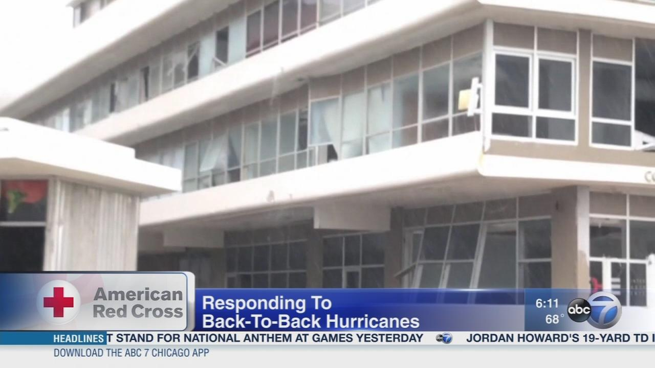 Red Cross working to assist hurricane victims