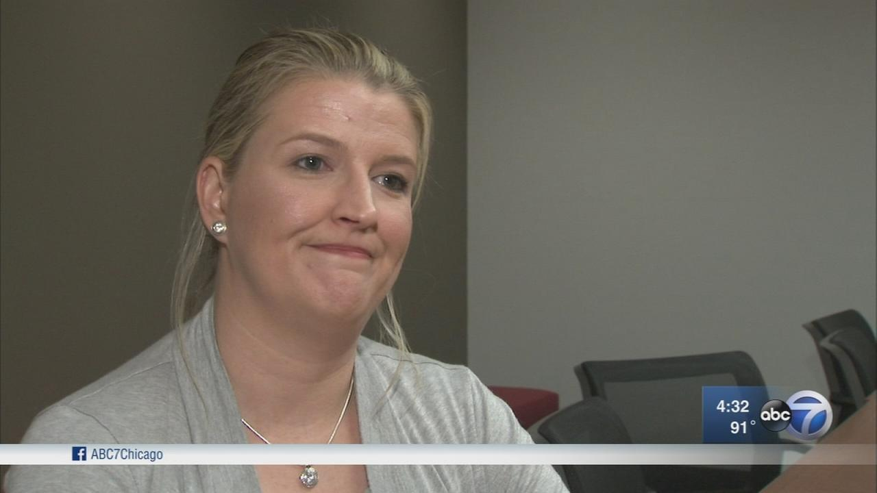 Frankfort cop suing for pregnancy discrimination speaks out