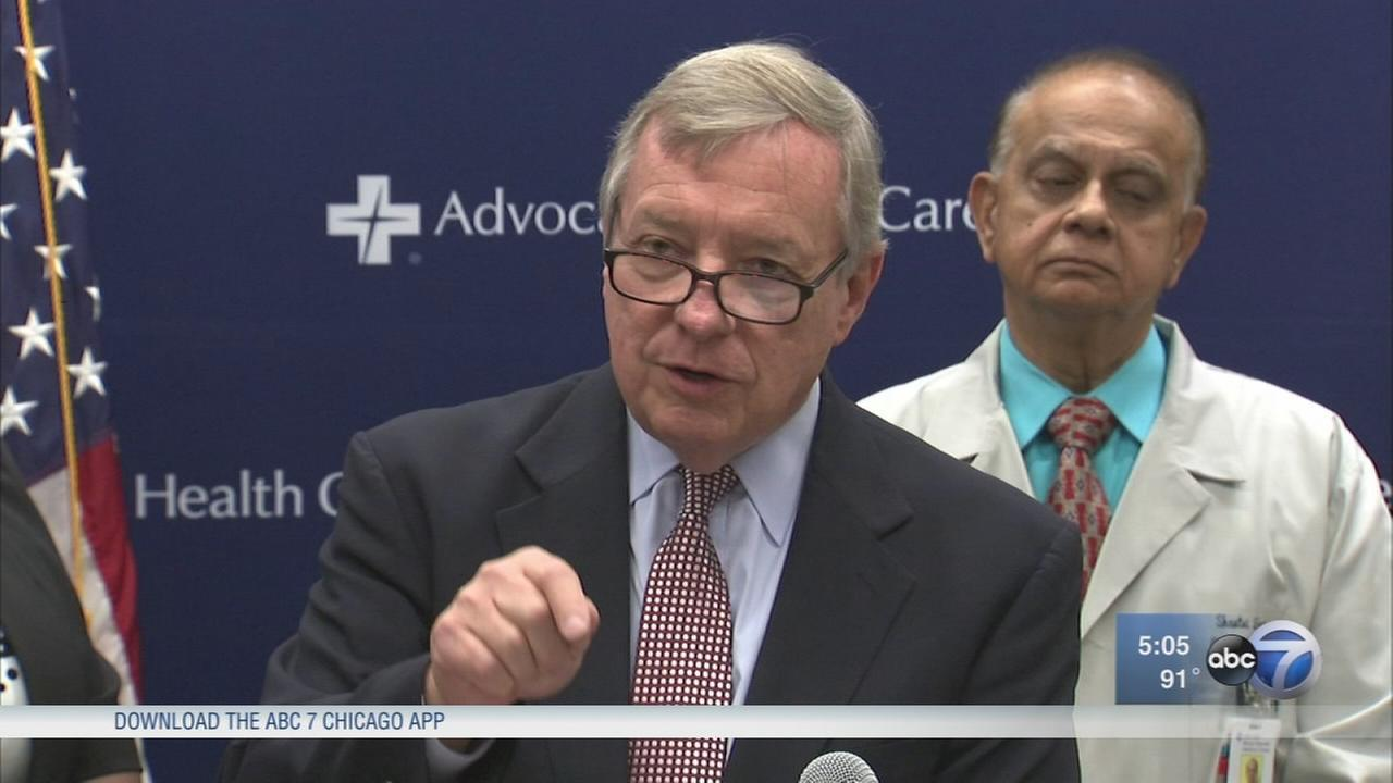 Durbin blasts GOP as they force through Obamacare repeal vote