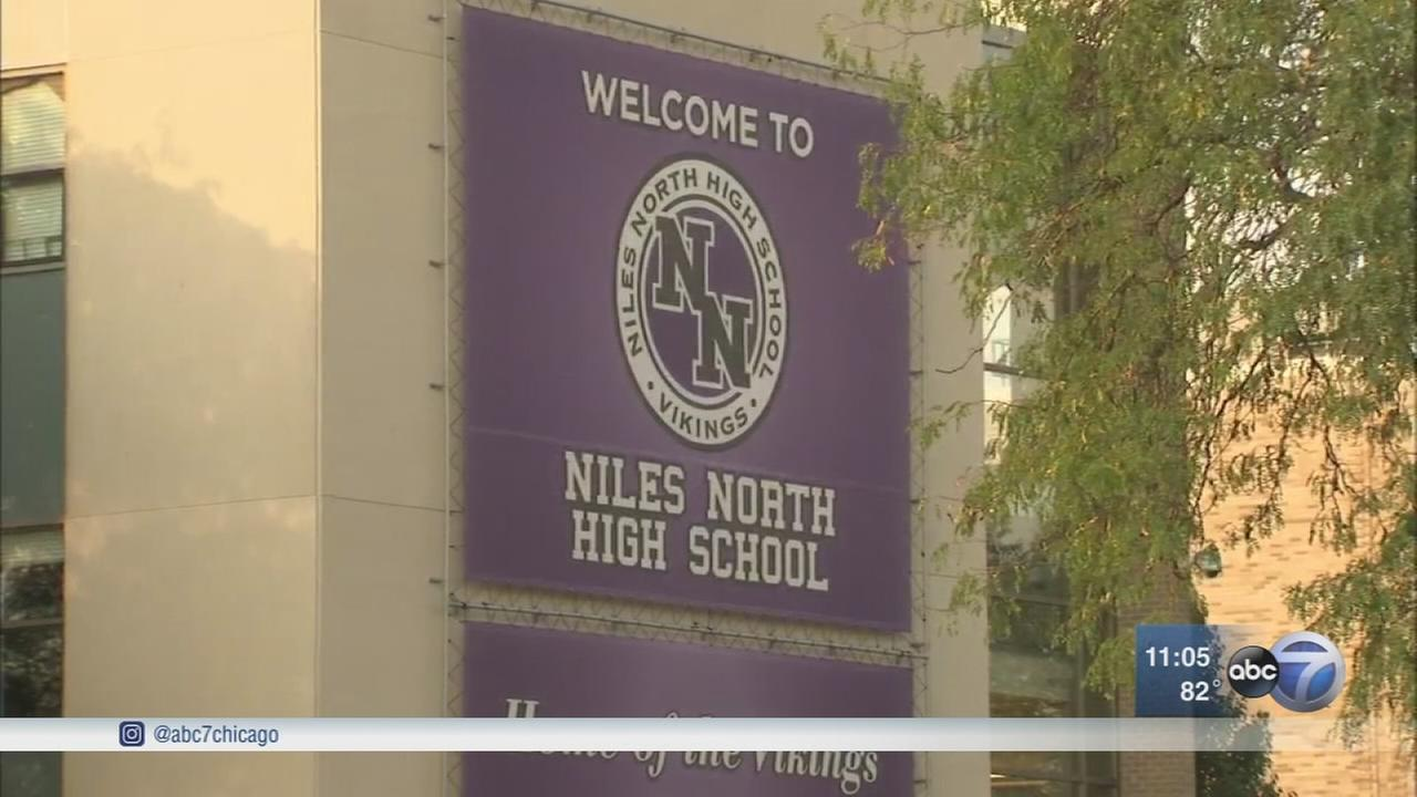 Niles North varsity football suspended