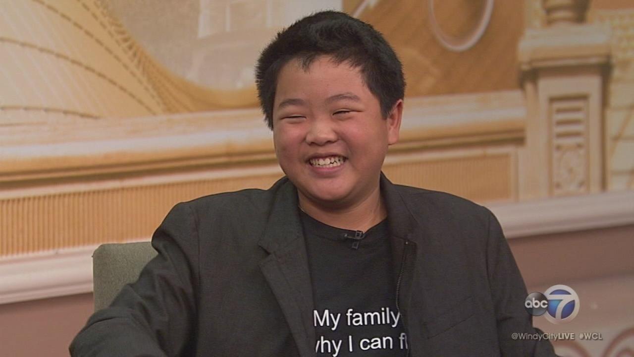 Hudson Yang from Fresh Off the Boat stops by