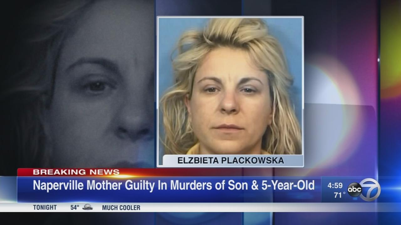 Naperville woman guilty in 2012 stabbing deaths of 2 children