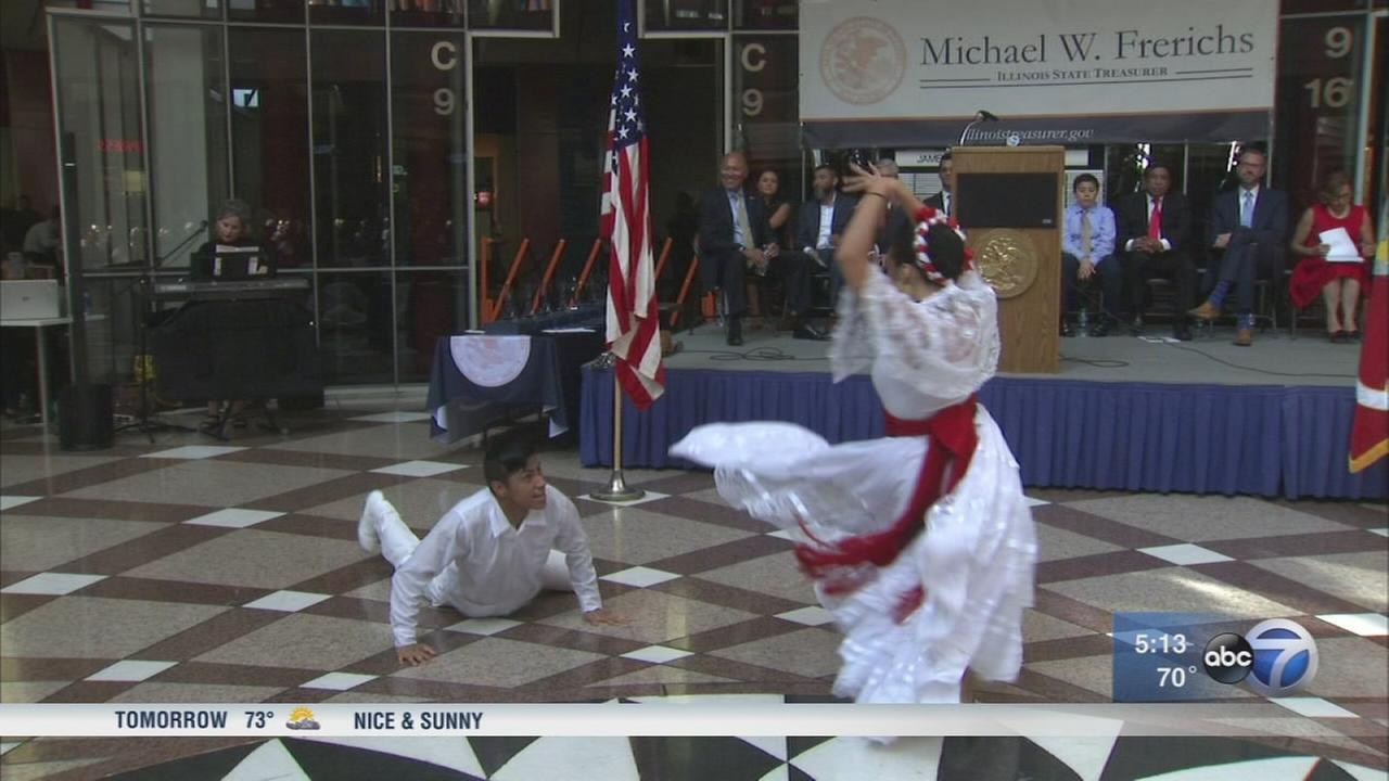 State treasurer hosts Hispanic Heritage celebration
