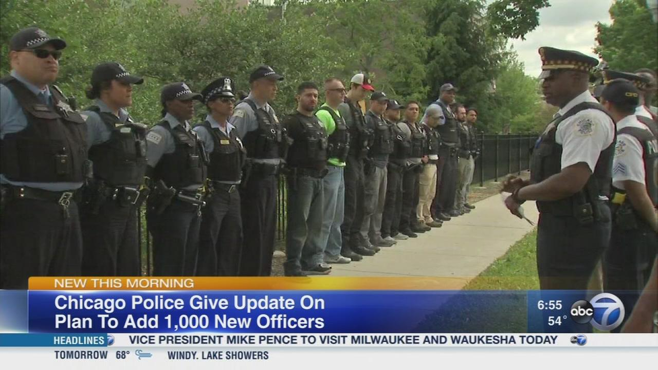 CPD plans to add 1,000 new officers