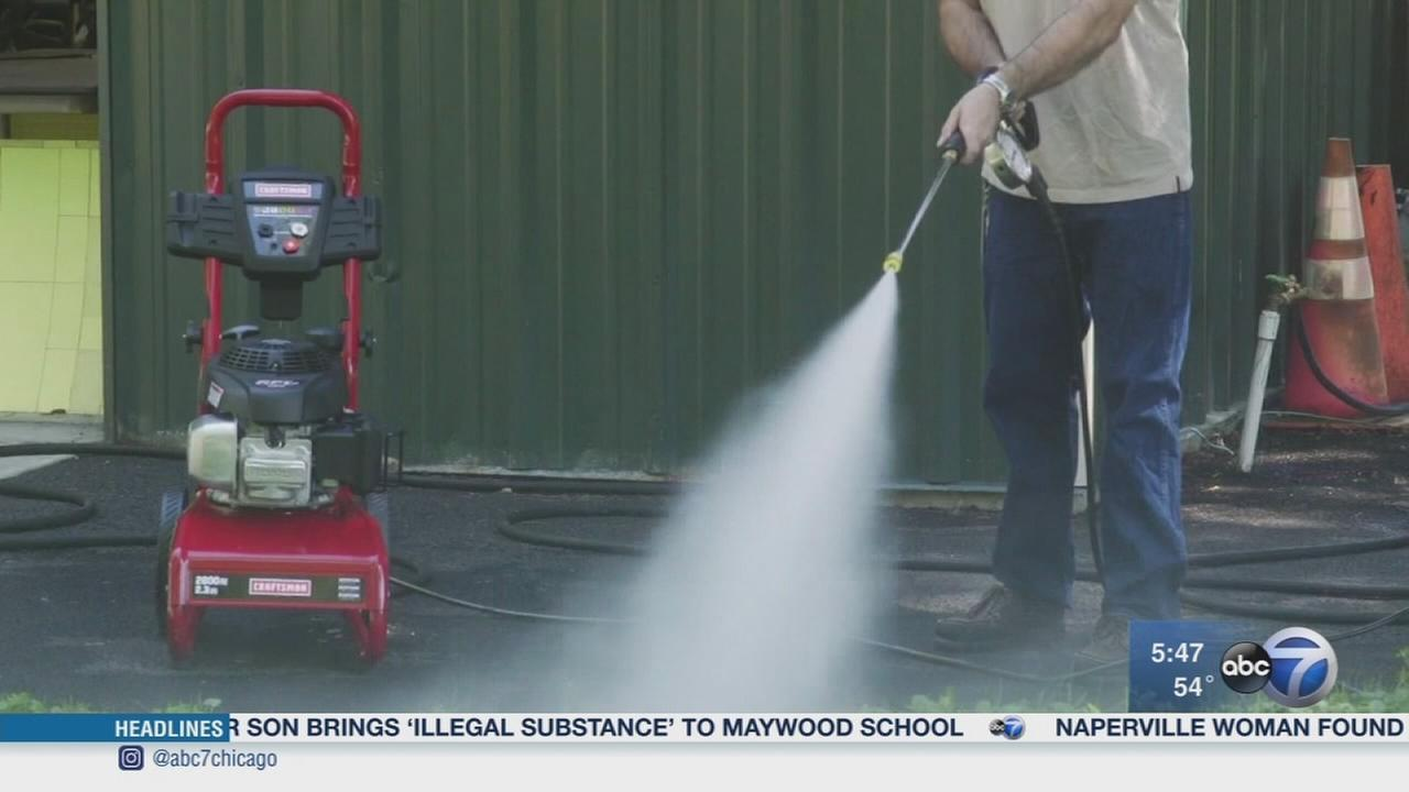 Consumer Reports: Clean-up made easy with pressure washer
