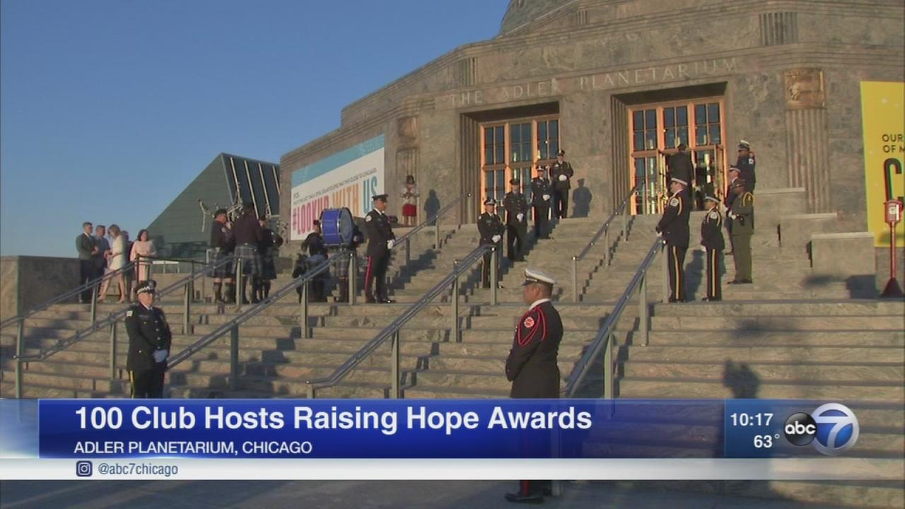 100 Club of Chicago holds Raising Hope Awards