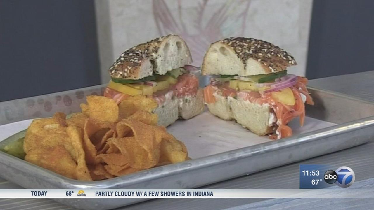 Authentic bagels, lox and more at North Center deli