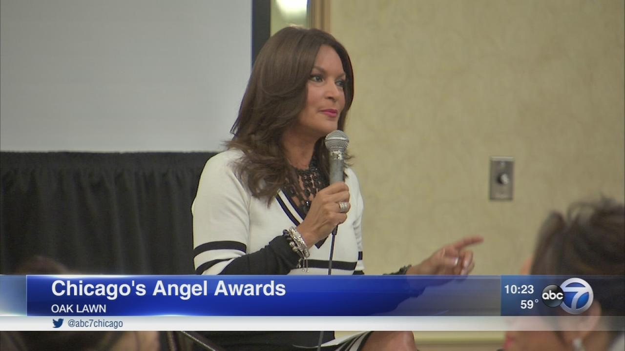 ABC7s Cheryl Burton honored at Angel Awards