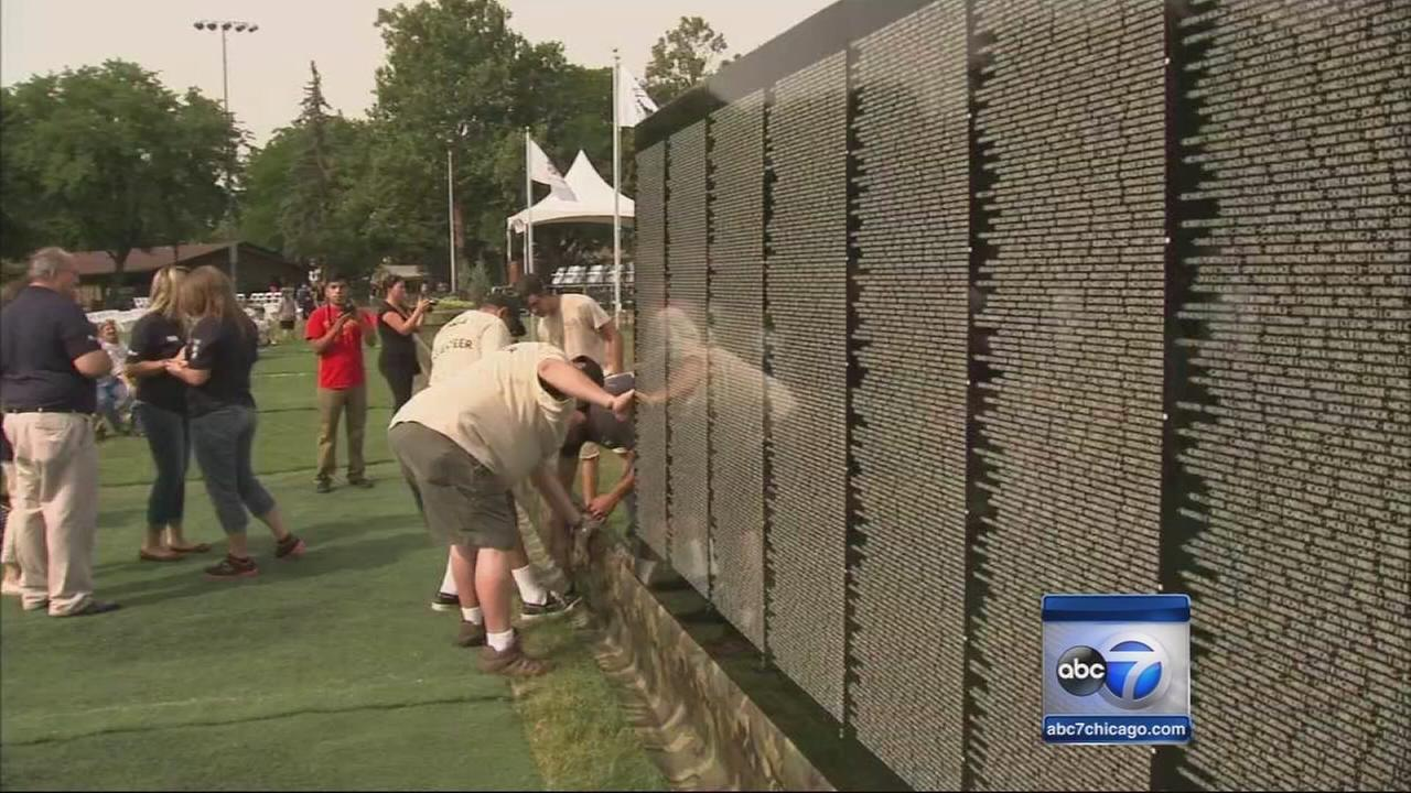 Traveling Vietnam memorial arrives in Berwyn