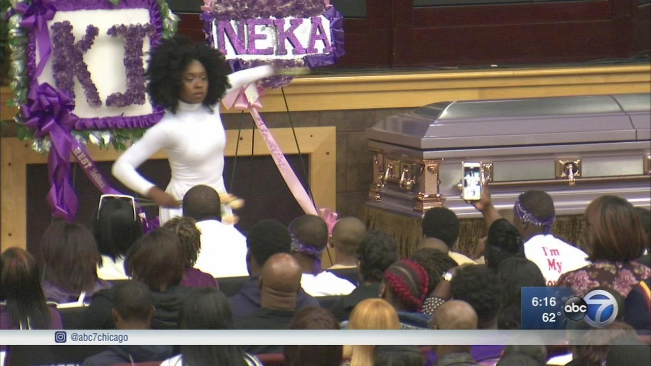 Funeral held for Kenneka Jenkins