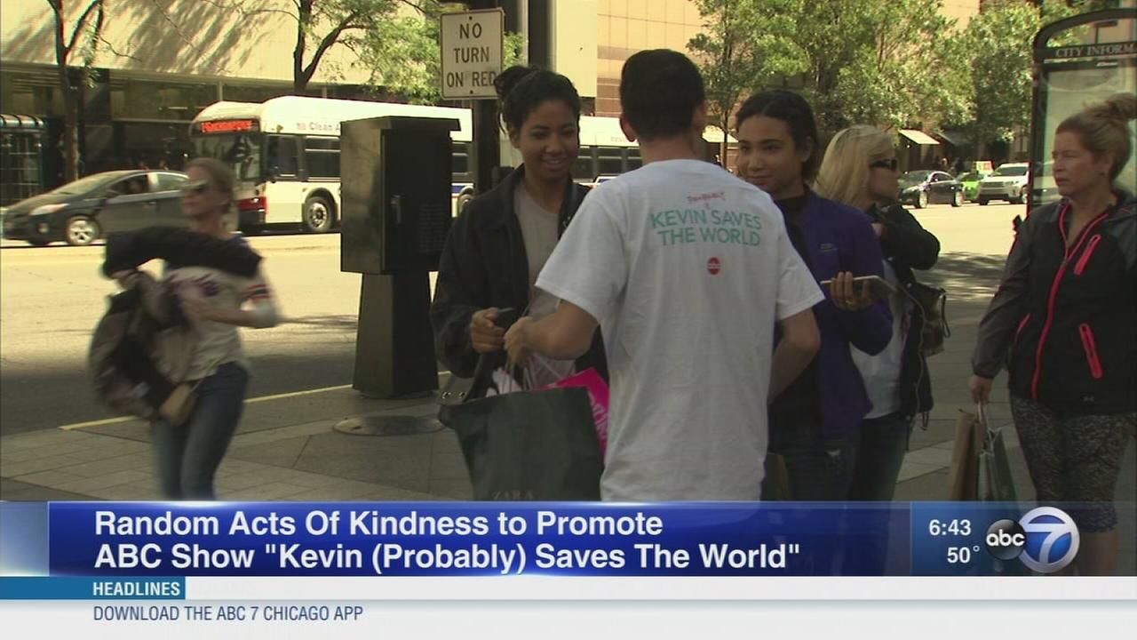 Random acts of kindness promote new ABC show