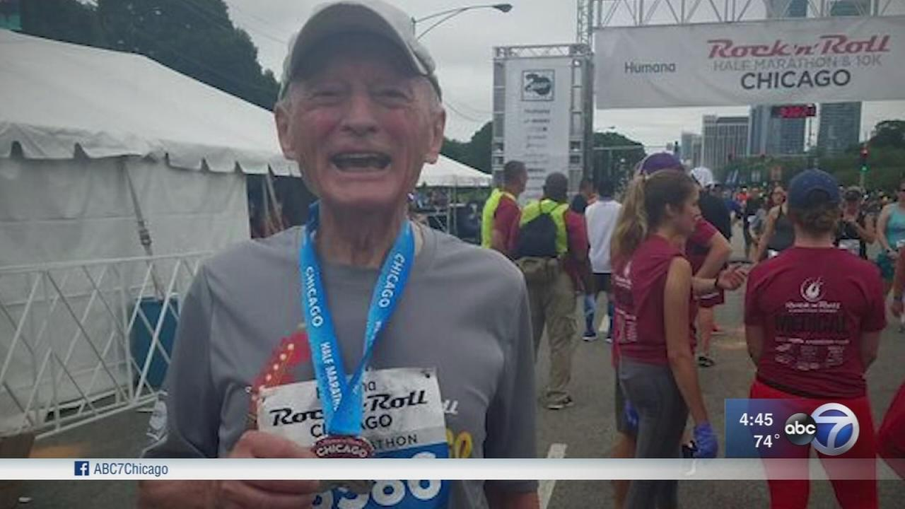 81-year-old man set to run his first Chicago Marathon