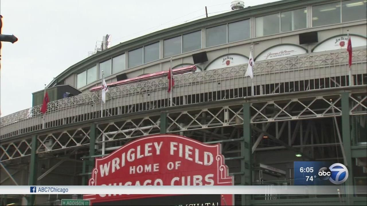 Security ramped up around Wrigley Field