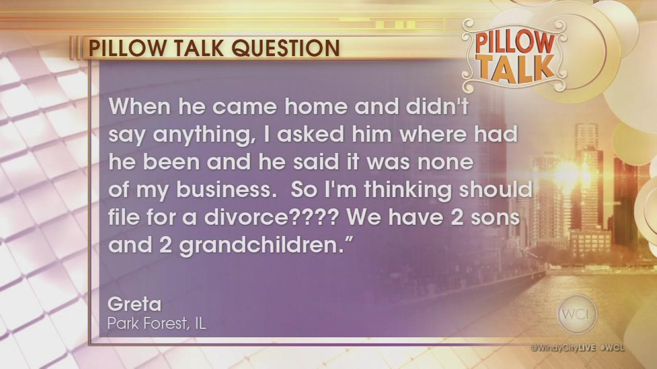 Pillow Talk: Husband disappeared for weeks