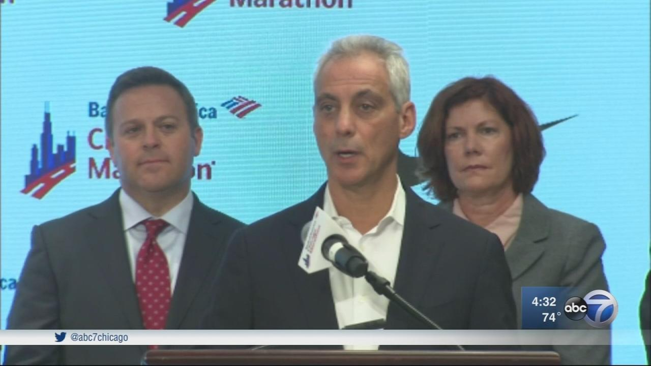 Emanuel: Chicago prepared for any eventuality ahead of marathon