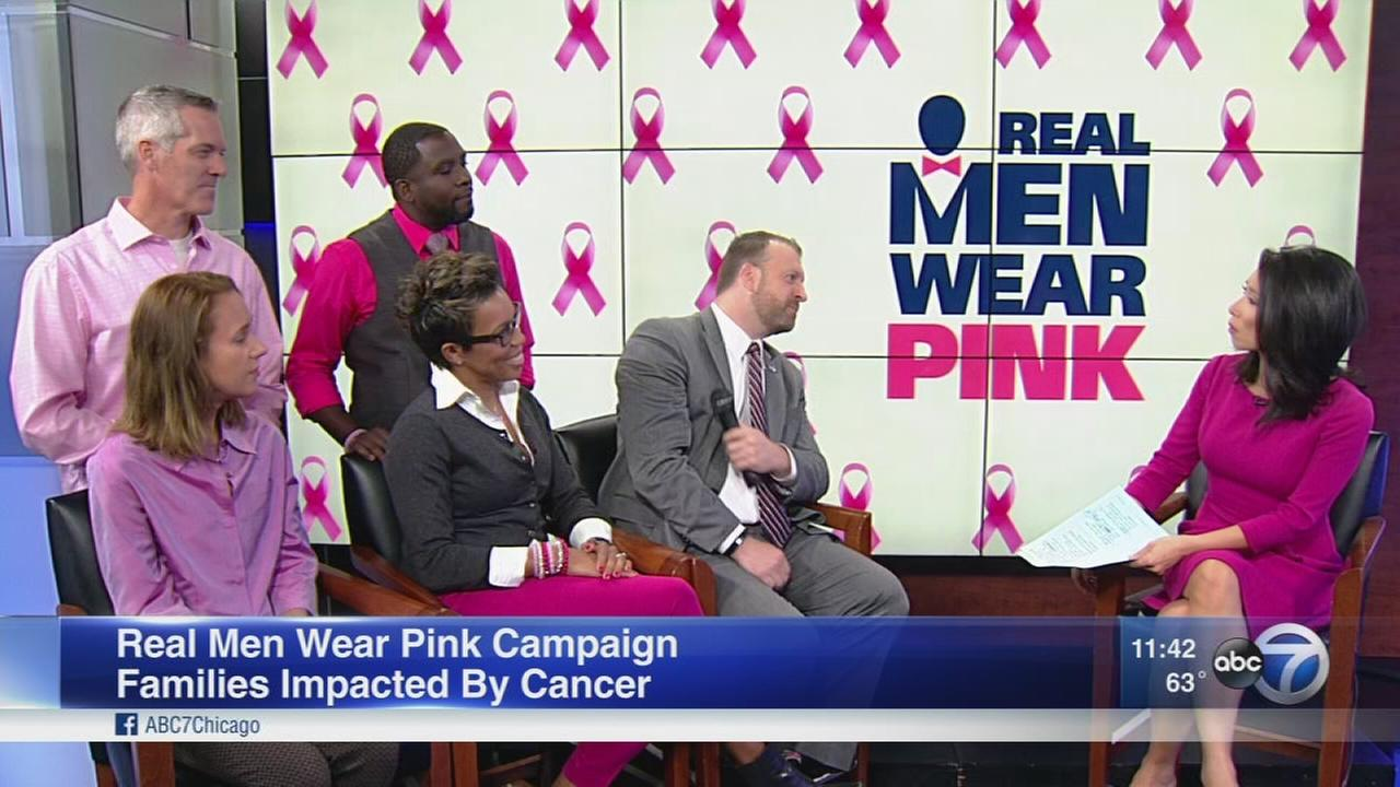 Real Men Wear Pink campaign raises money for breast cancer research