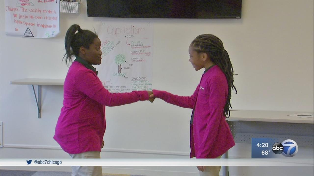 Chicago organization mentors young girls to be leaders