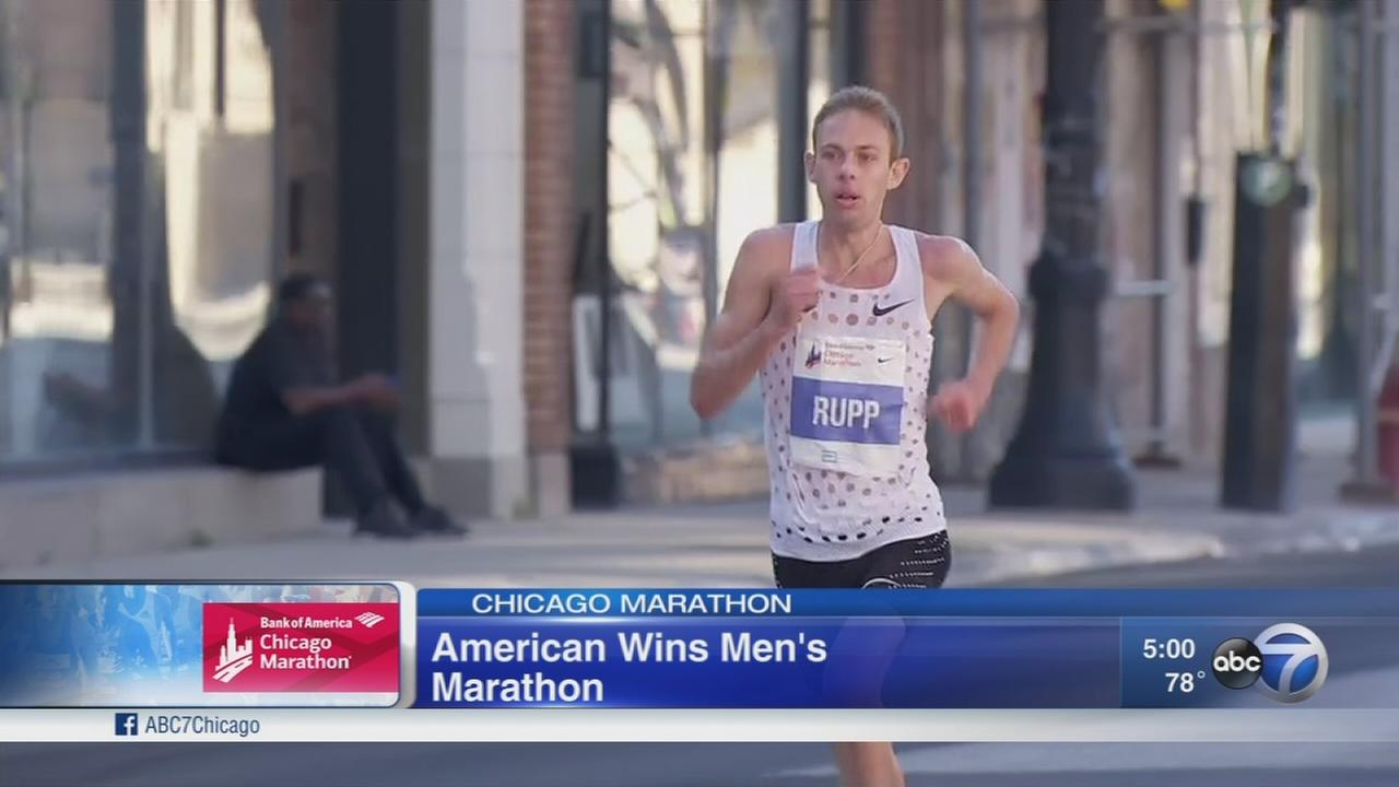 Galen Rupp becomes 1st American to win Chicago Marathon since 2002