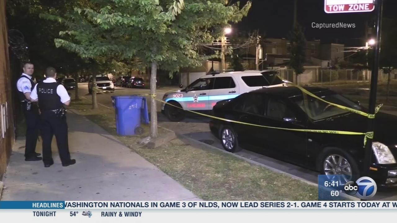 CPD squad struck by gunfire