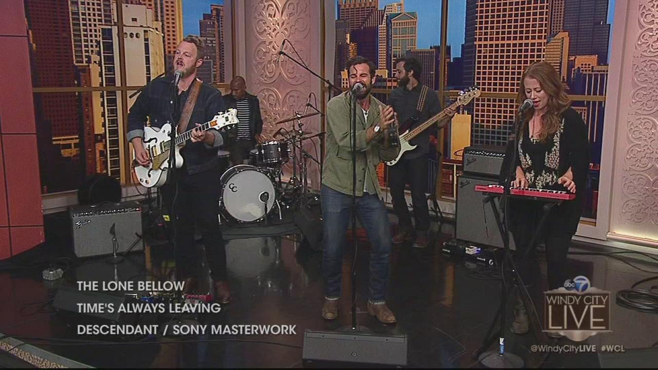 The Lone Bellow perform live