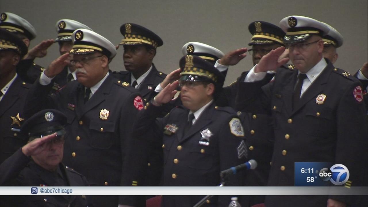 First responders honored for heroic acts in line of duty