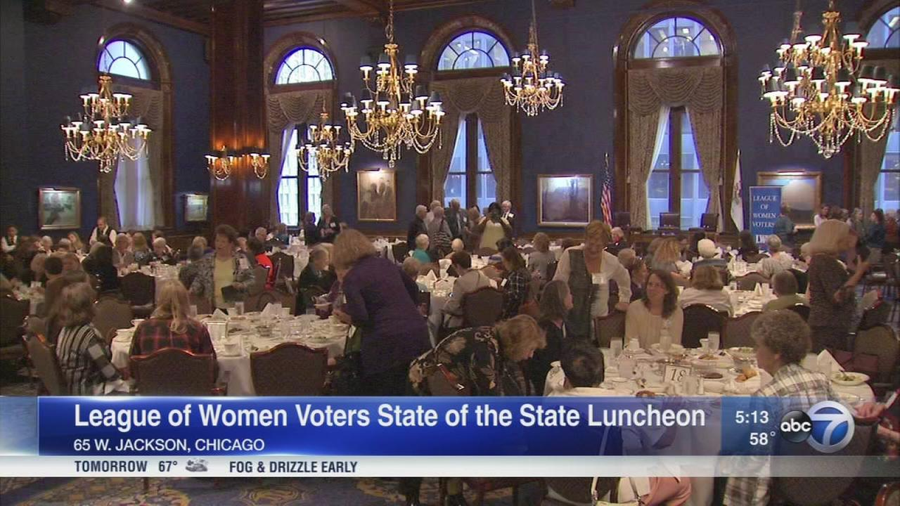 League of Women Voters holds State of the State luncheon