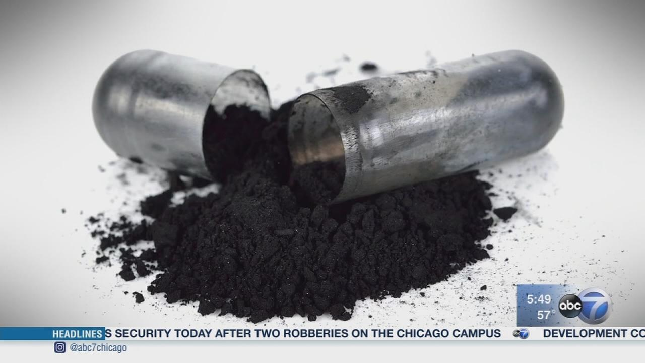 Consumer Reports: Activated charcoal health, beauty trend