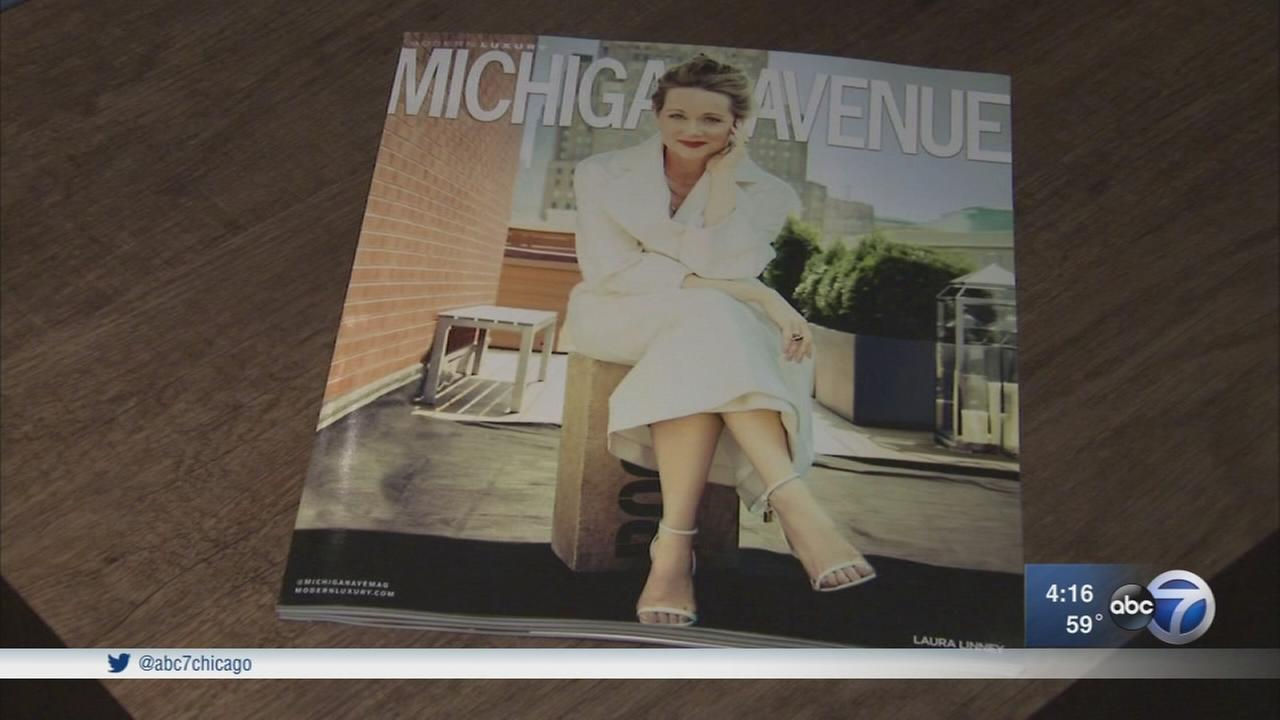 Laura Linney graces cover of Michigan Avenue Magazine