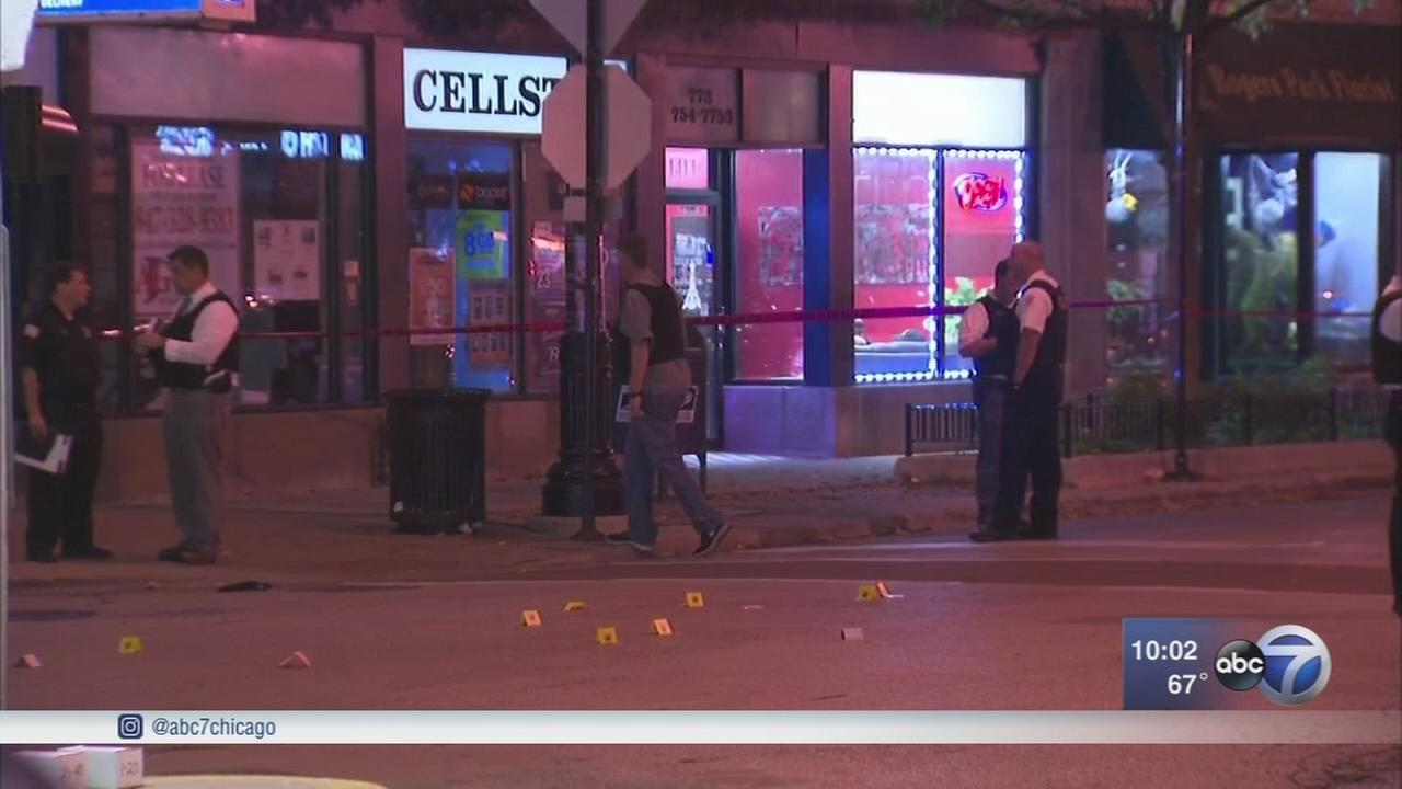 Woman, 64, killed and boy, 13, shot in Rogers Park; 10 shot Friday since 3 p.m.