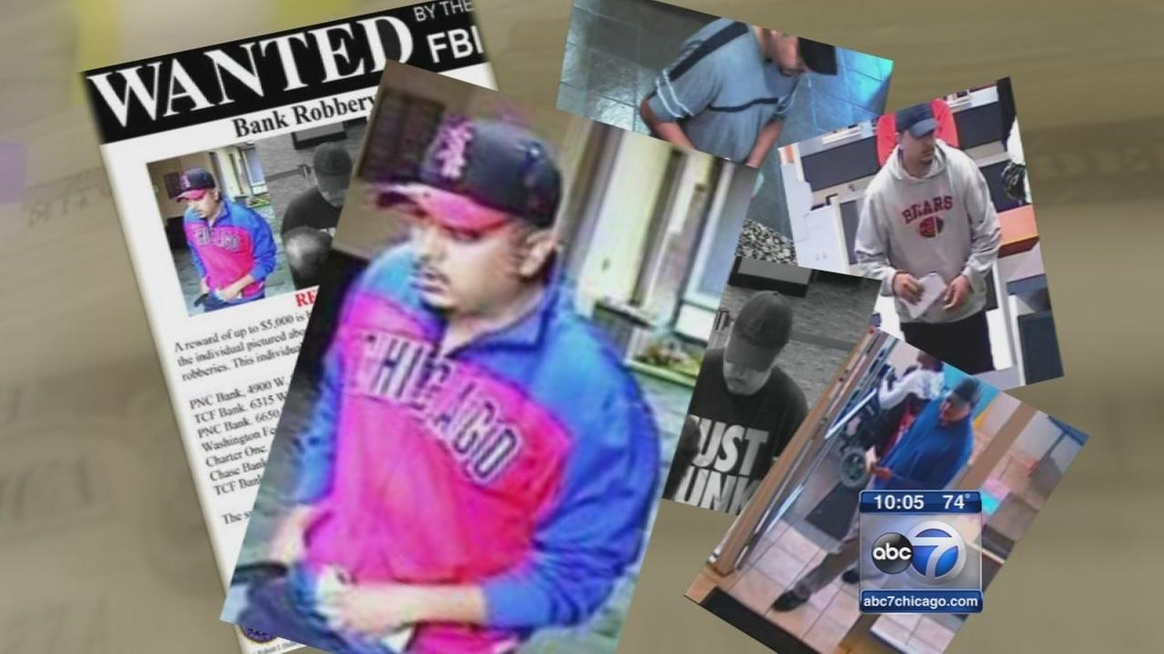Serial bank robber No Boundaries Bandit strikes again