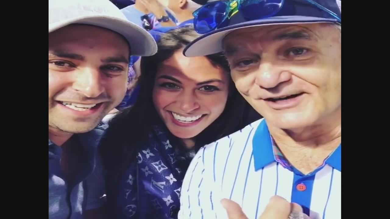 Bill Murray helps couple announce pregnancy