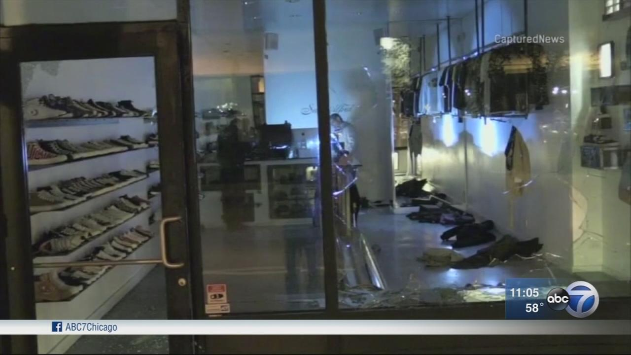 Smash-and-grab burglaries escalate