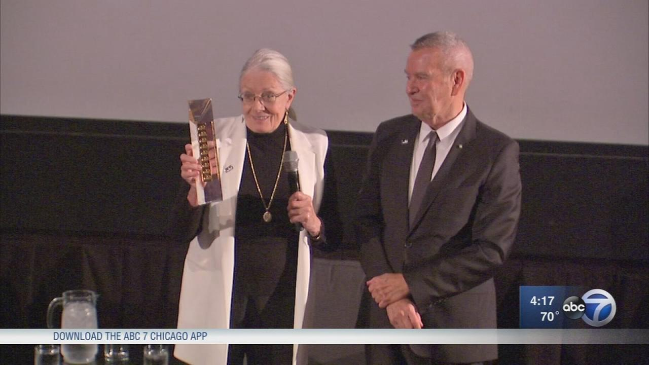 Vanessa Redgrave receives Chicago Film Festival award
