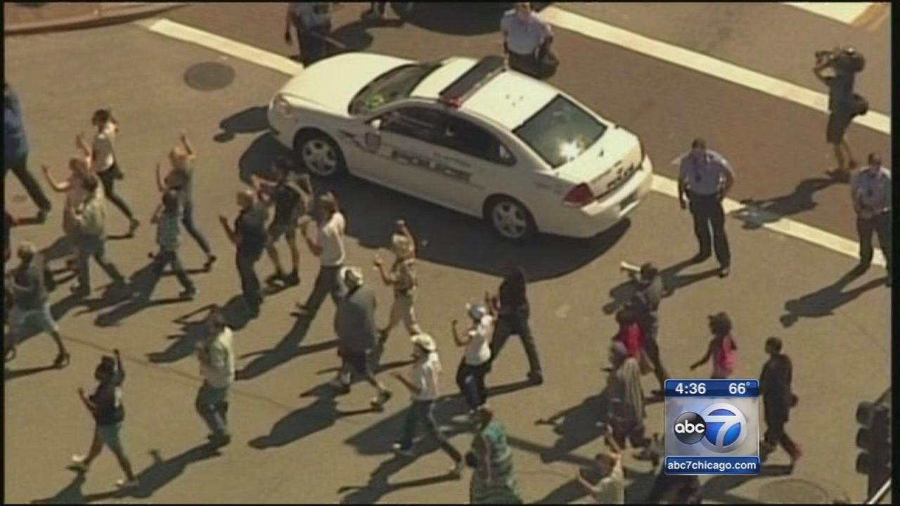 Protests continue in Ferguson