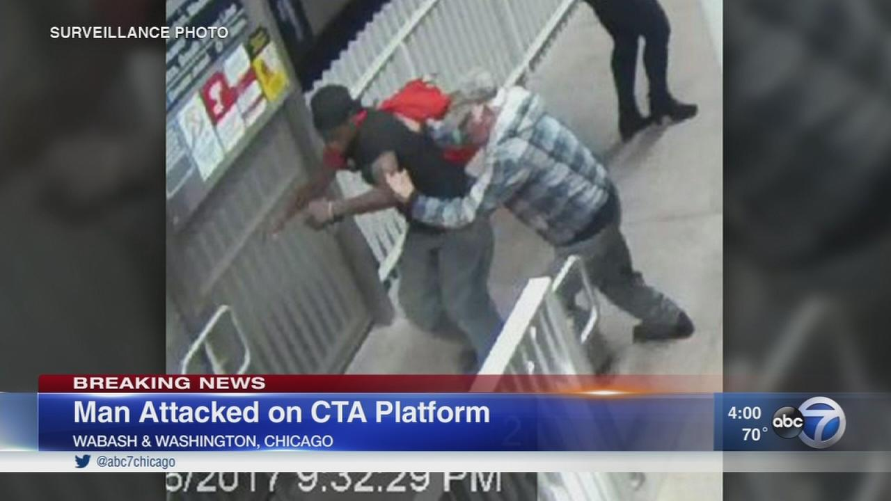 Man, 81, badly injured during robbery at CTA Brown Line station