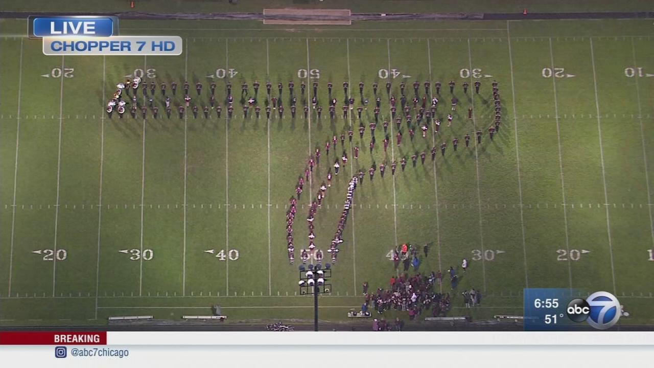 Friday Flyover Elgin High School