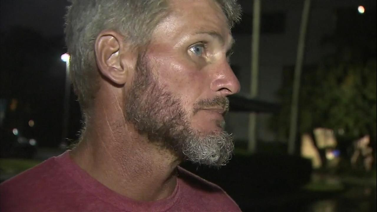 Homeless veteran helps rescue driver after crash
