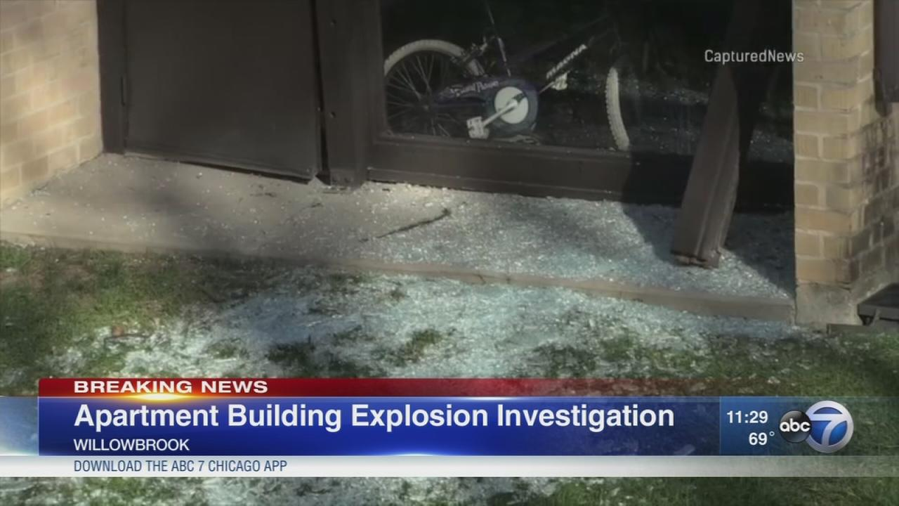 Willowbrook explosion under investigation