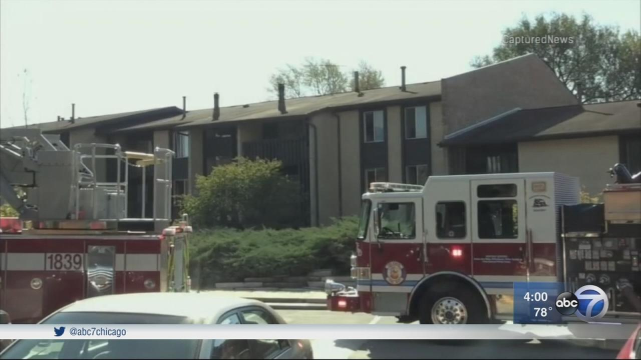 Willowbrook explosion, fire under investigation; 1 injured