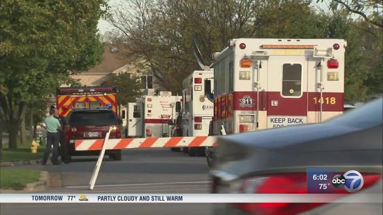 Elderly woman injured in Willowbrook explosion caused by gasoline leak