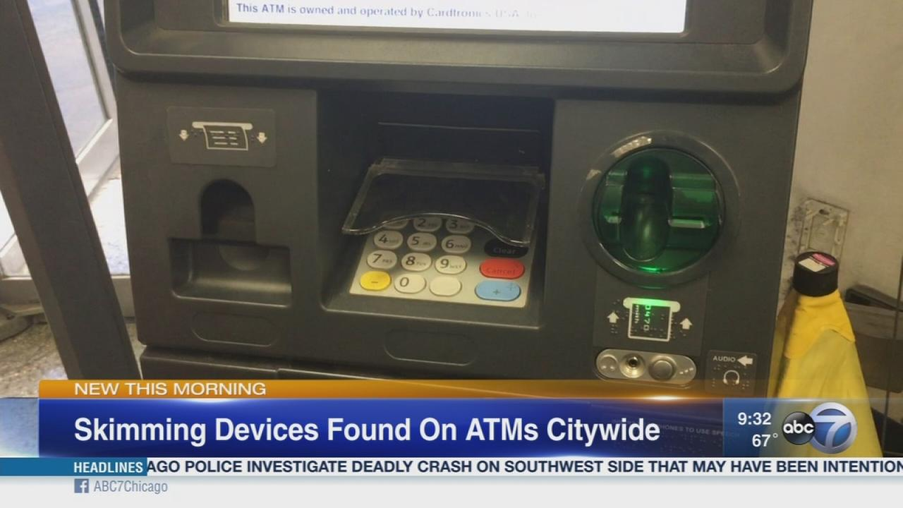 More than dozen skimming devices found on Chicago ATMs