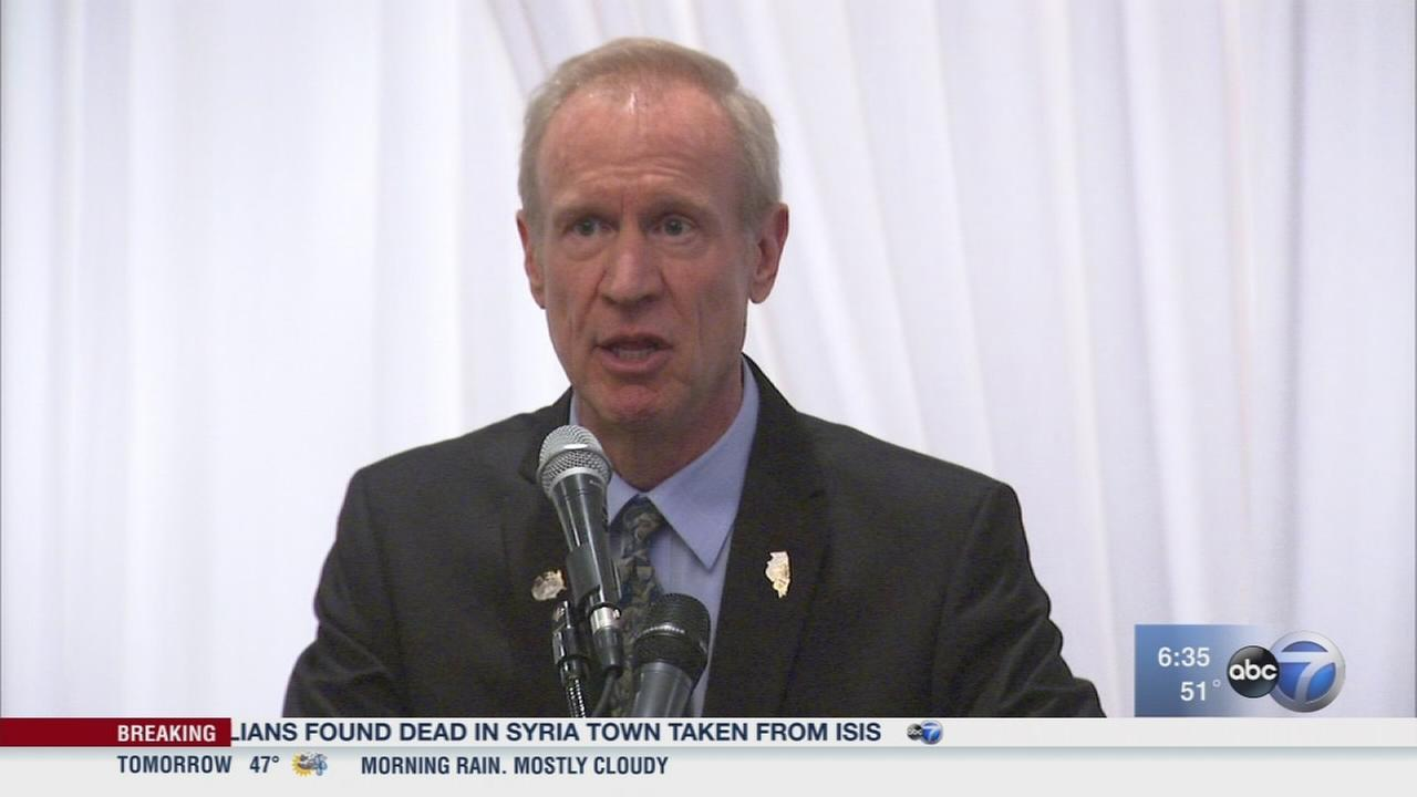 Rauner launches re-election bid