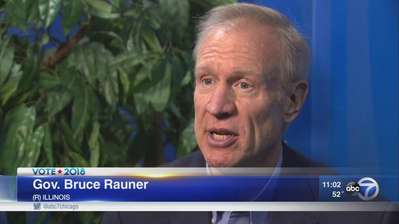 Rauner announces re-election bid