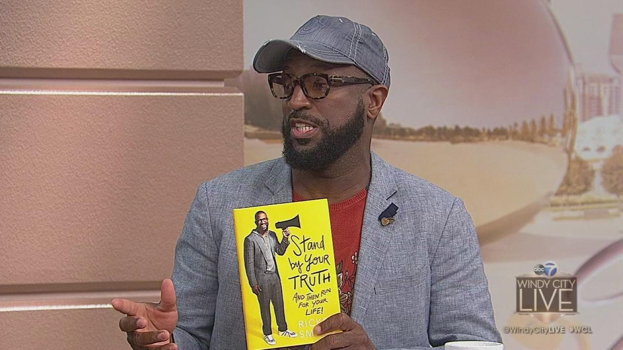 Radio and TV personality Rickey Smiley has a new book