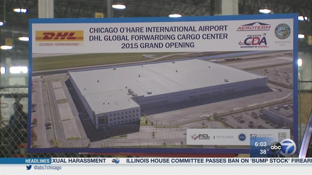 New DHL shipping facility opens at OHare