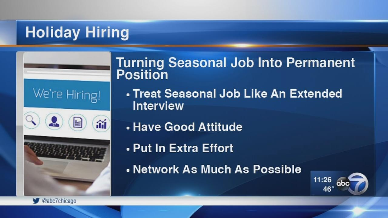 Tips for getting a holiday job