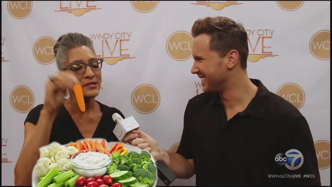 2-minute warning: Carla Hall
