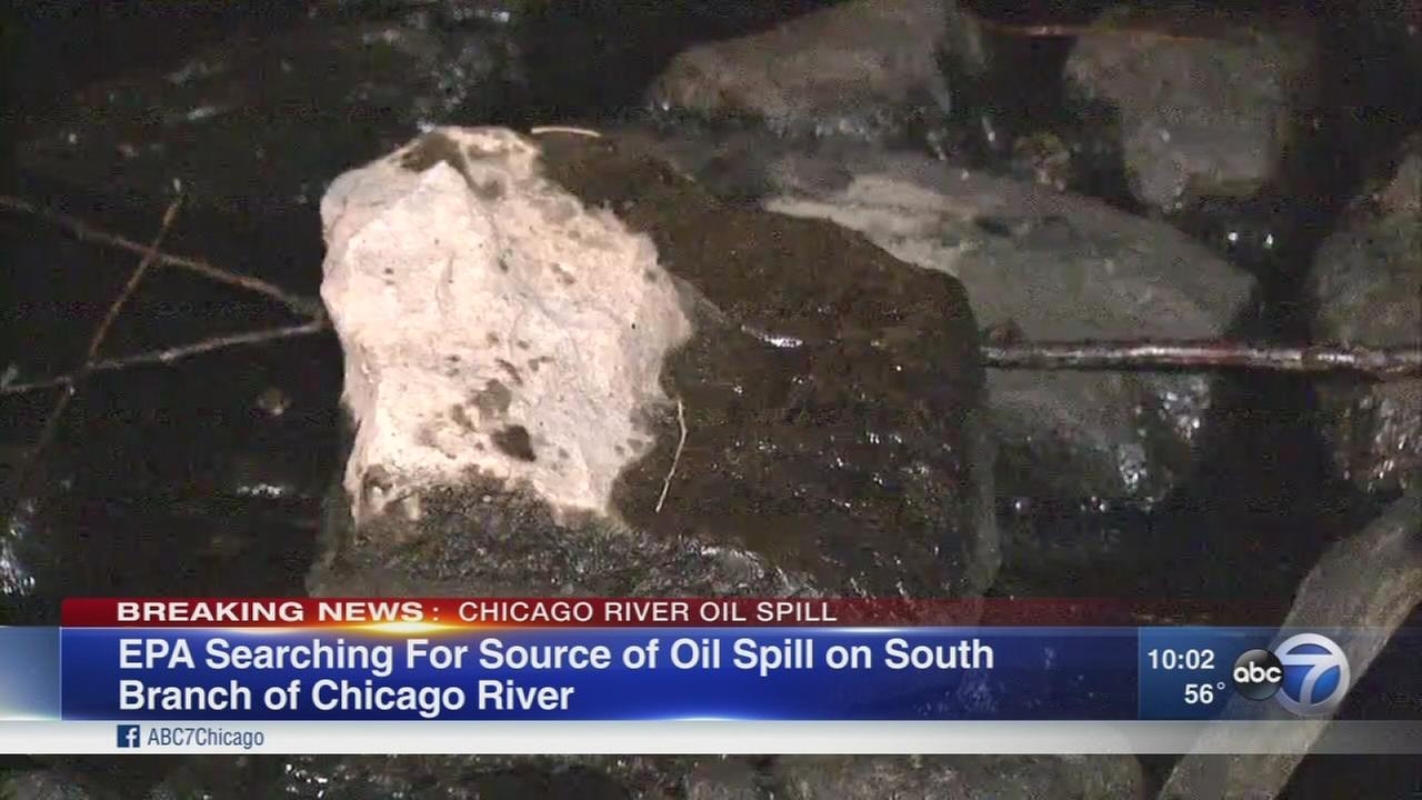 Chicago Rivers Bubbly Creek closed due to oil spill